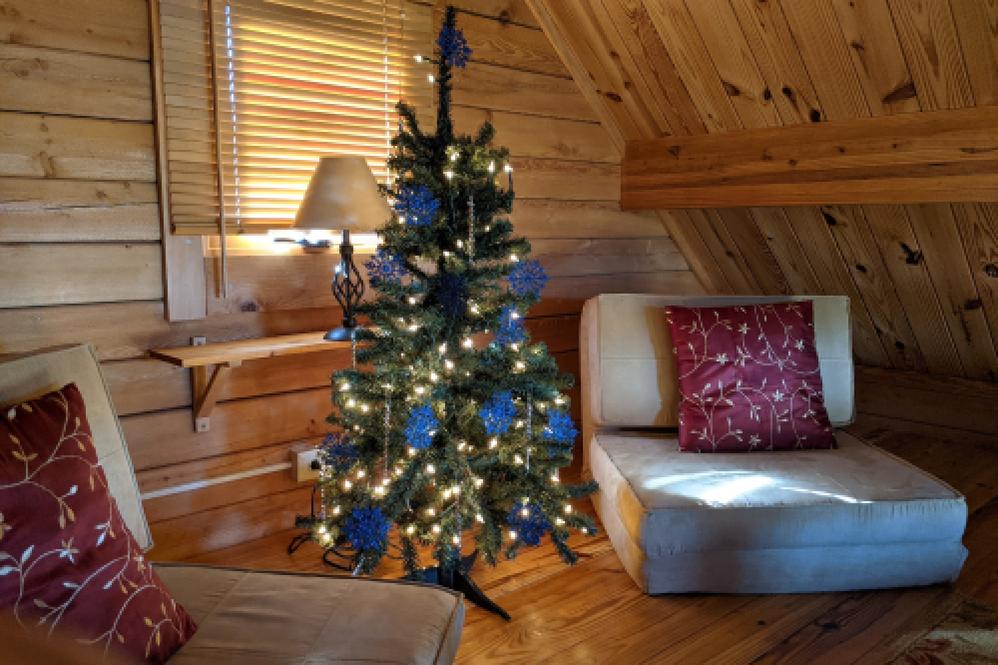 Little loft tree for the cabin!