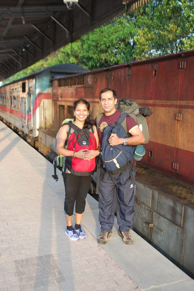 Train Ride - Colombo