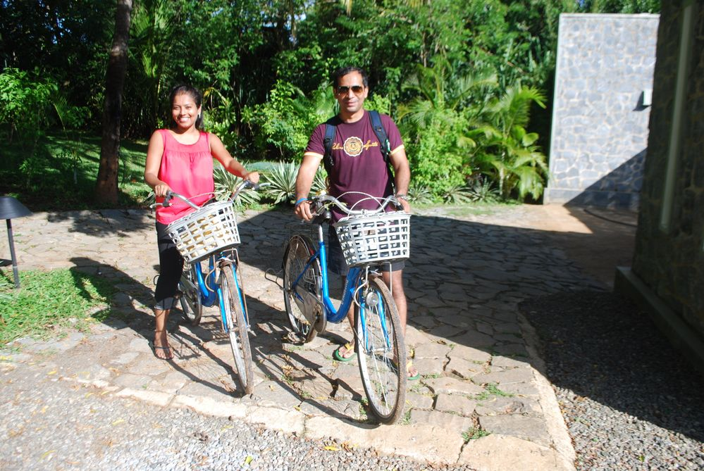 Idle cycle rides in the back roads