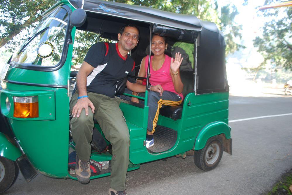 A Tuk Tuk ride experience