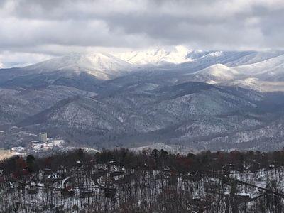 First Snow of the Season, Dec. 1, 2020  - Great Smoky Mountains, Gatlinburg, TN