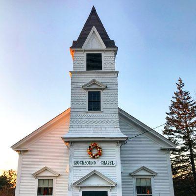 Rockbound Chapel, Brooklin, Maine