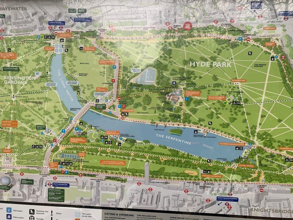 A spasso per Londra: Hyde Park