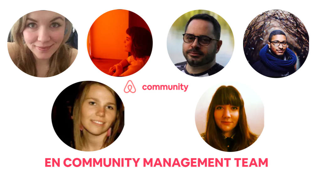 Meet your Airbnb Community Center Team