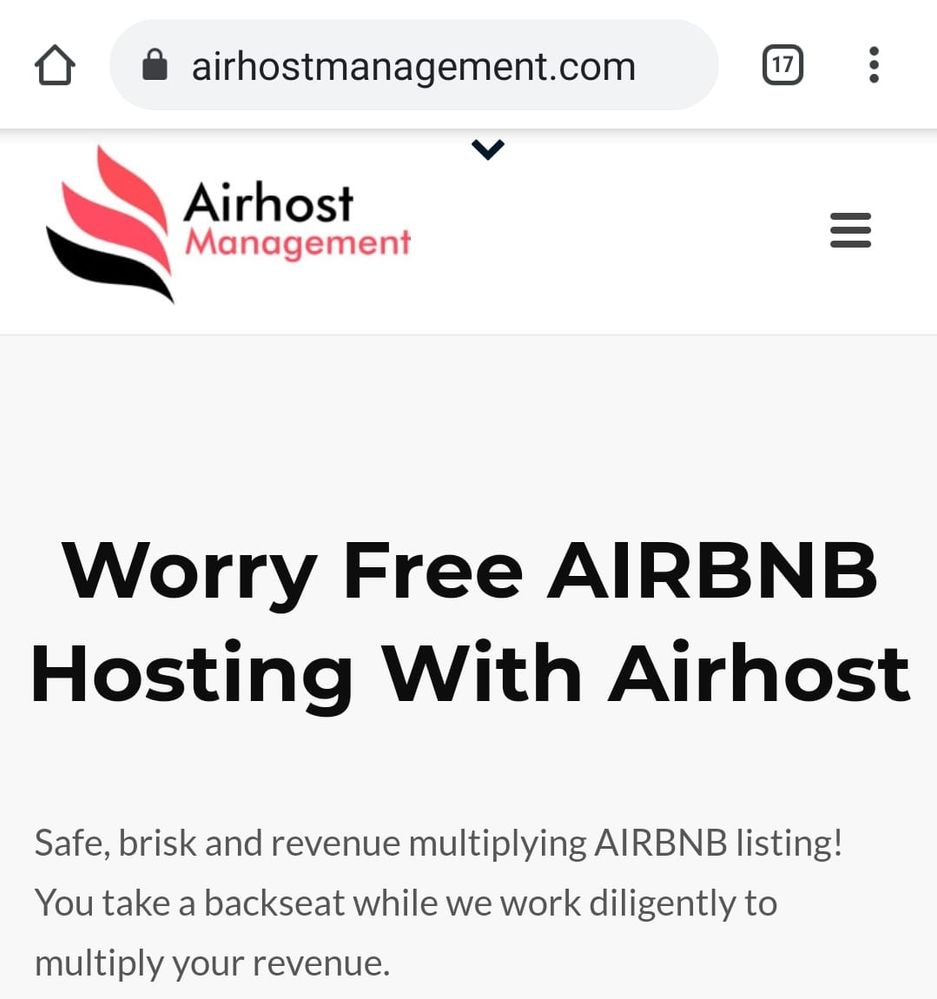 Airhost management