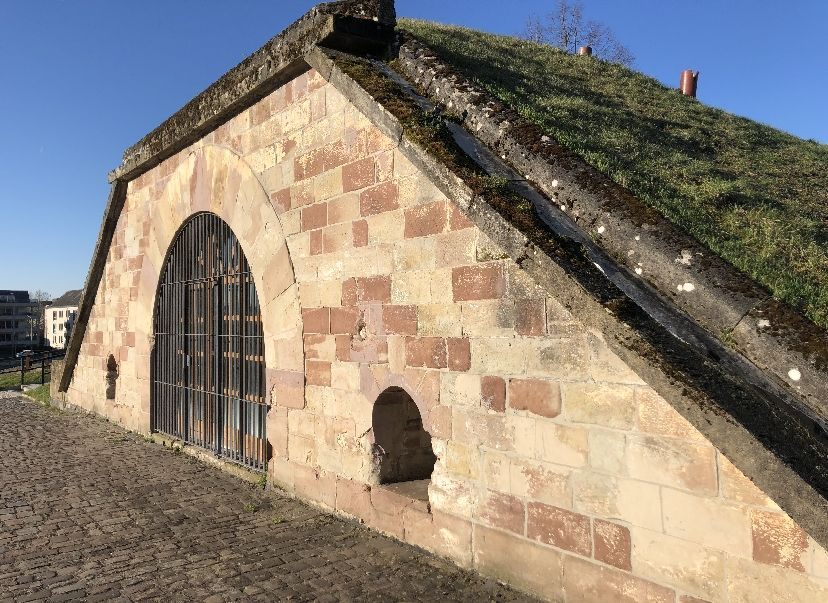 Saarlouis: historischer Westwall