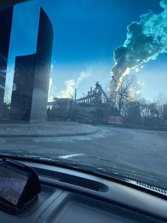 Kohlezeche in Saarlouis