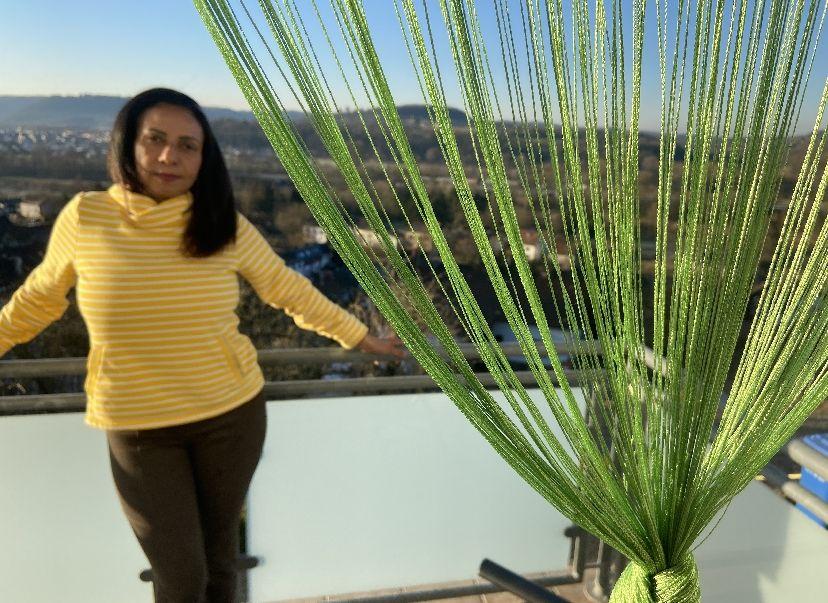 Beckingen: Blick vom Balkon