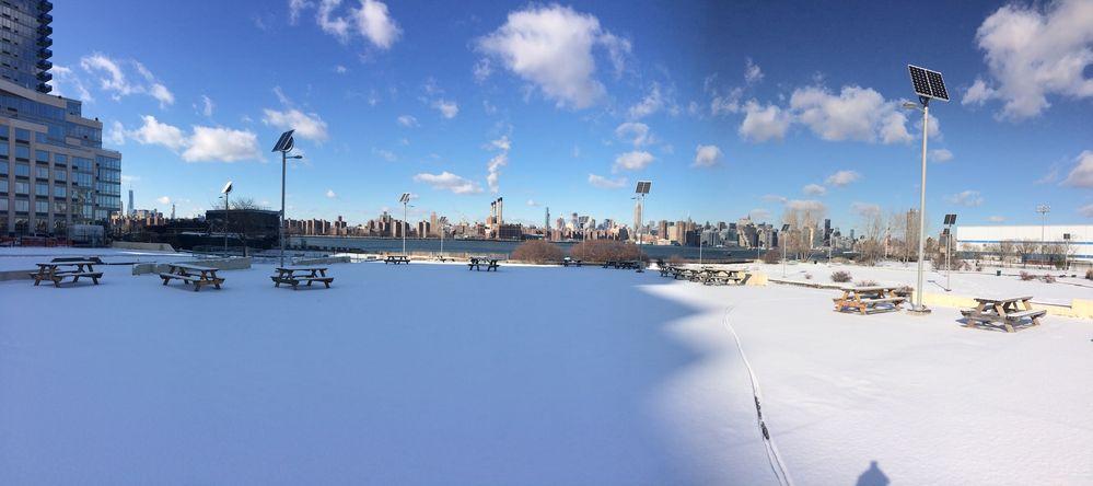 Manhattan depuis Brooklyn