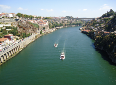 View of the Douro from Luis Bridg