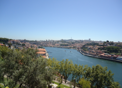 View of the Douro from the Crystal Palace Garden
