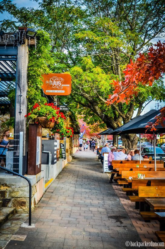 The village of Hahndorf