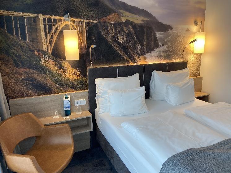 Zimmer im Best Western-Hotel, Wiesbaden