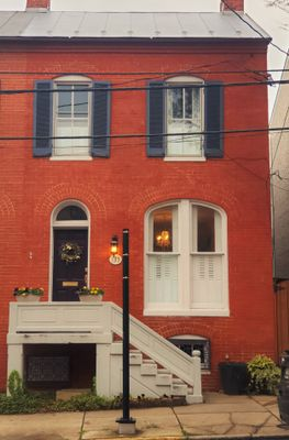 A rowhouse we used to own, built in 1880