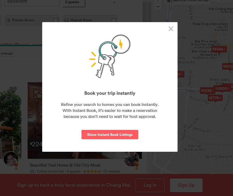 Please Make The Pop Up Message On Instantbook More Airbnb Community
