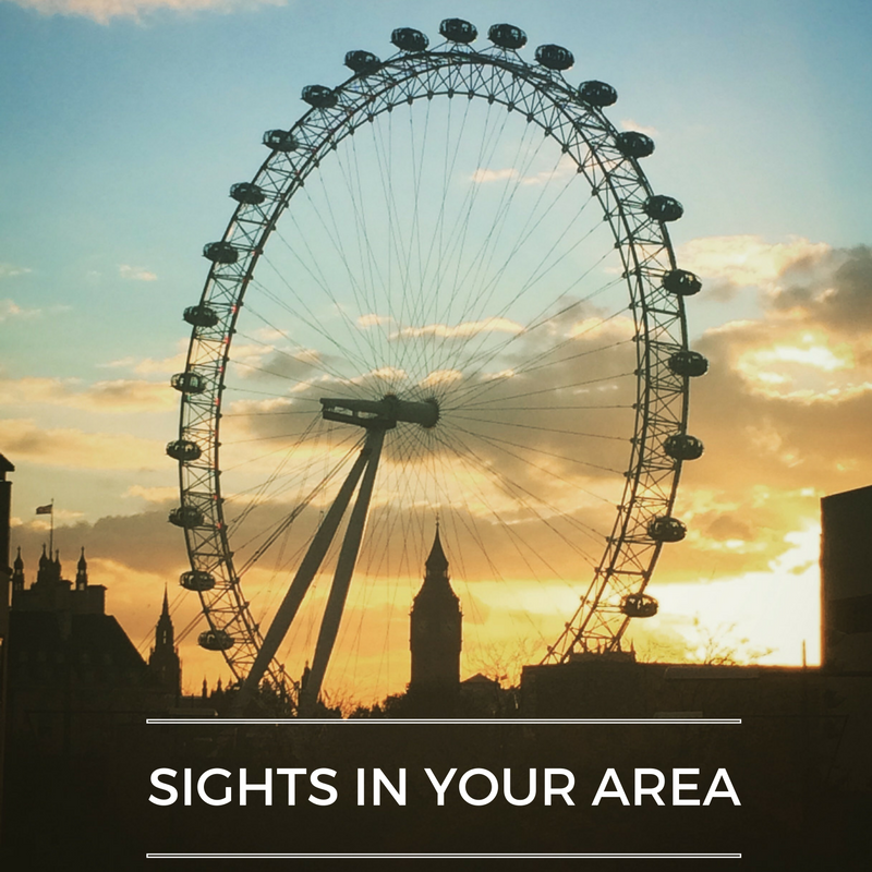 What sights do you recommend to your guests?