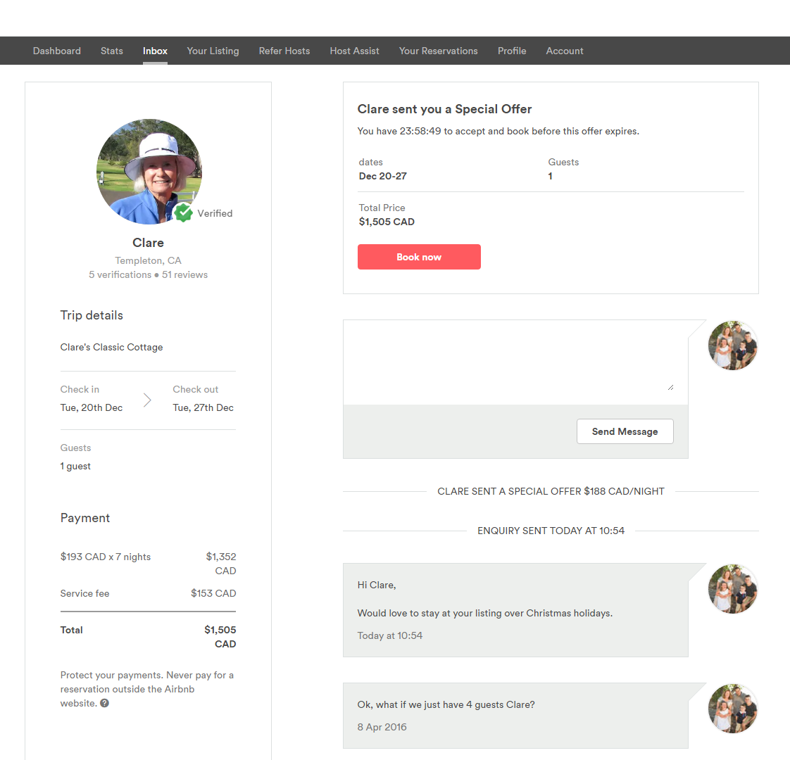 Special Offers A Community Help Guide Updated Airbnb Community