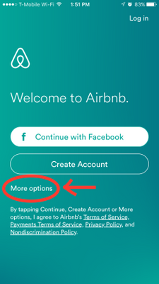 Airbnb Iphone App Login Airbnb Community