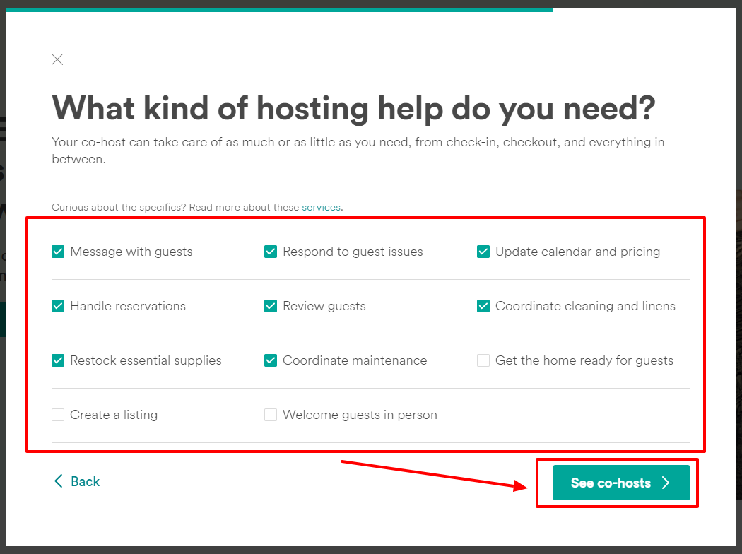 how to add co host airbnb