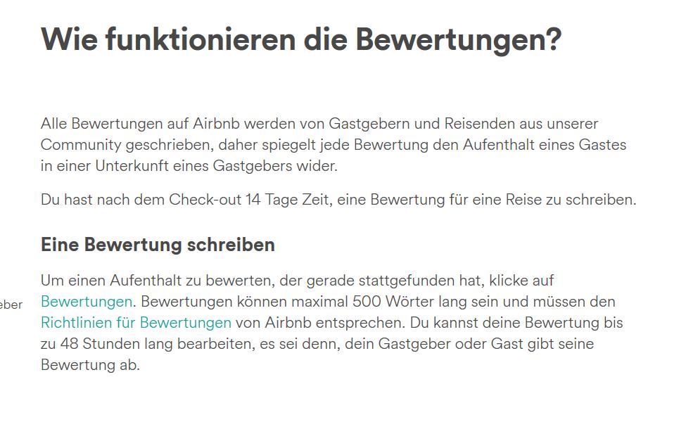 a517f09a28e40e Airbnb bewertung schreiben. Meine AirBnB Erfahrungen  Wie du die ...