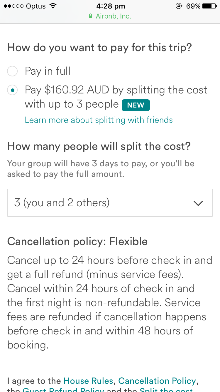 Payment - Airbnb Community