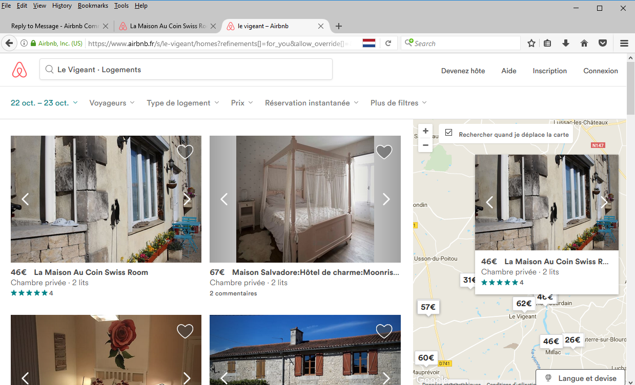 Solved French Airbnb Website Airbnb Community