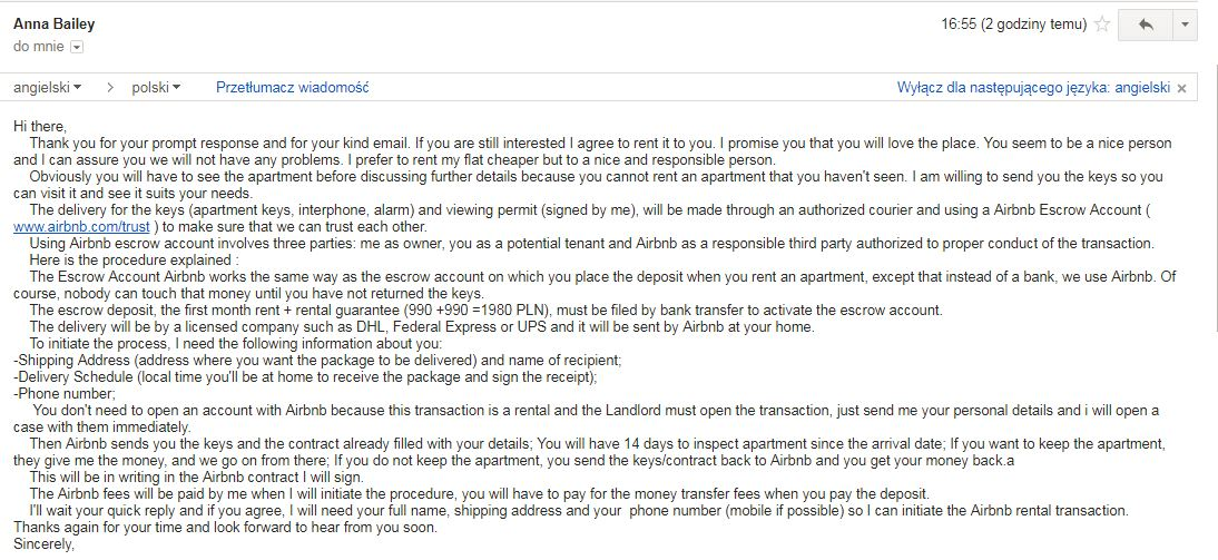 Scam Airbnb Escrow Account Airbnb Community