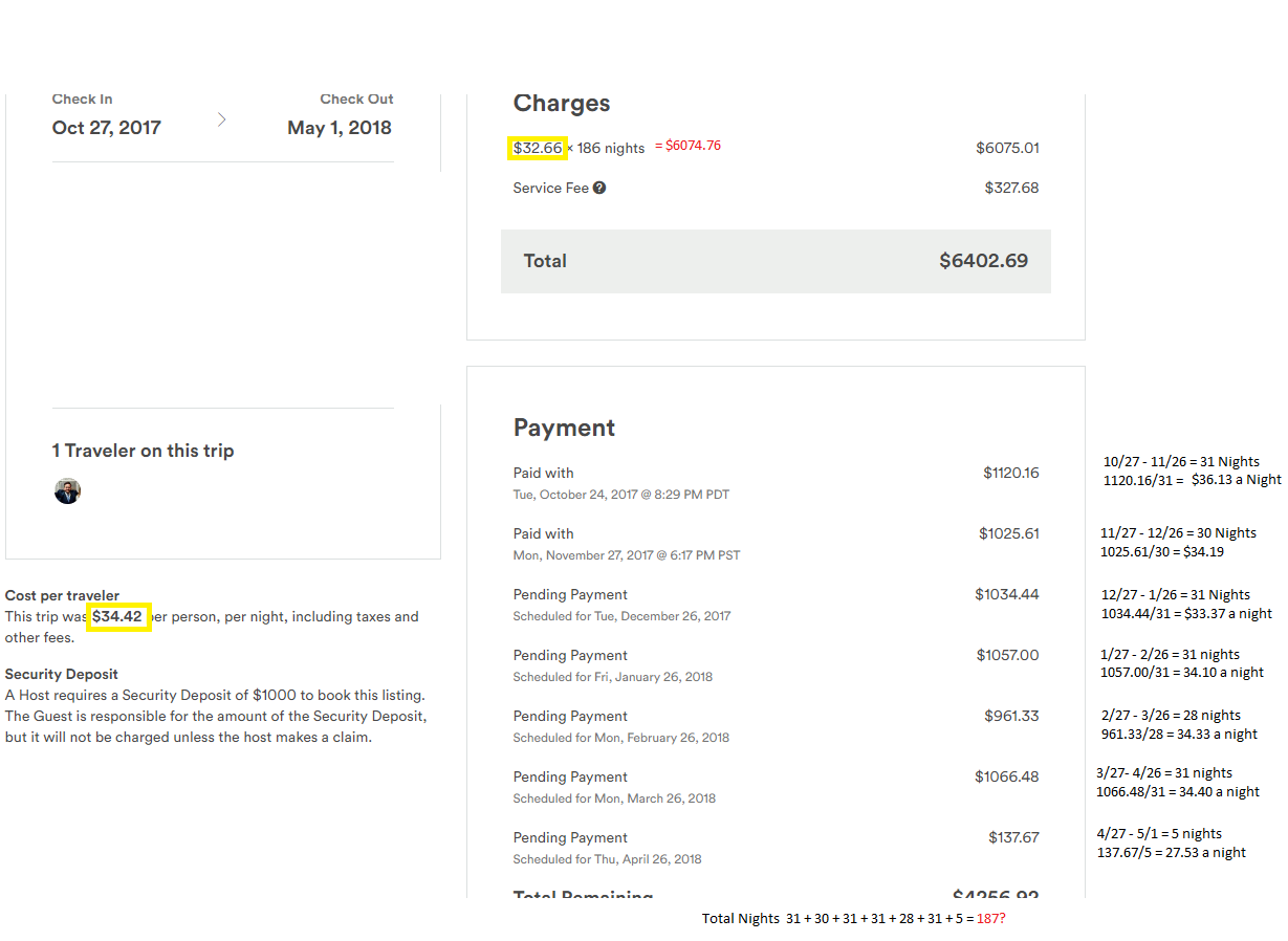Can Someone Explain This Invoice To Me Airbnb Community - Invoice to me
