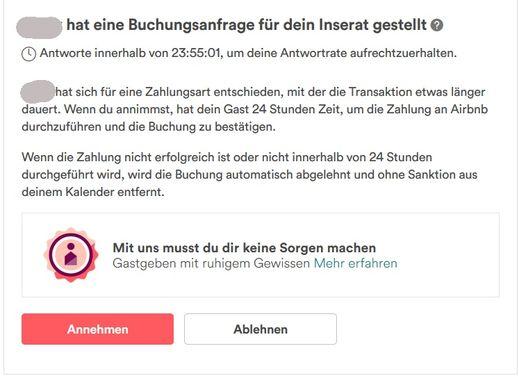 Airbnb verifiziert ID sicher