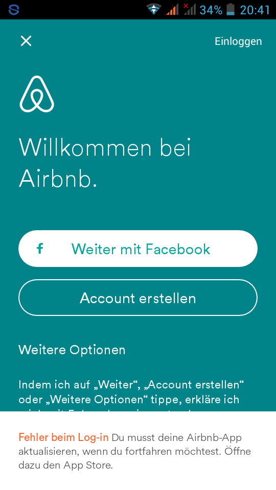 Airbnb Anmeldung