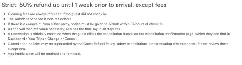 Cancellation Policies have been CHANGED! - Page 4 - Airbnb