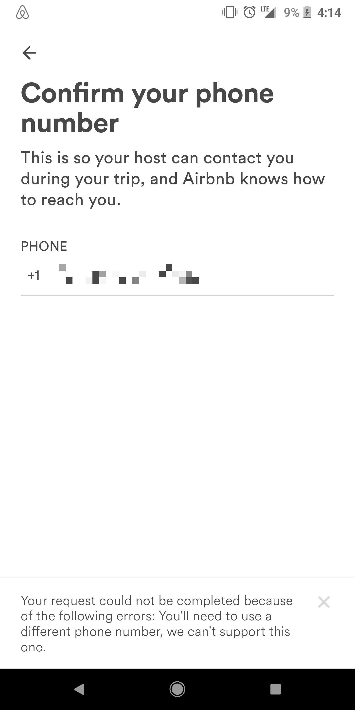 Verifying a phone number - Airbnb Community