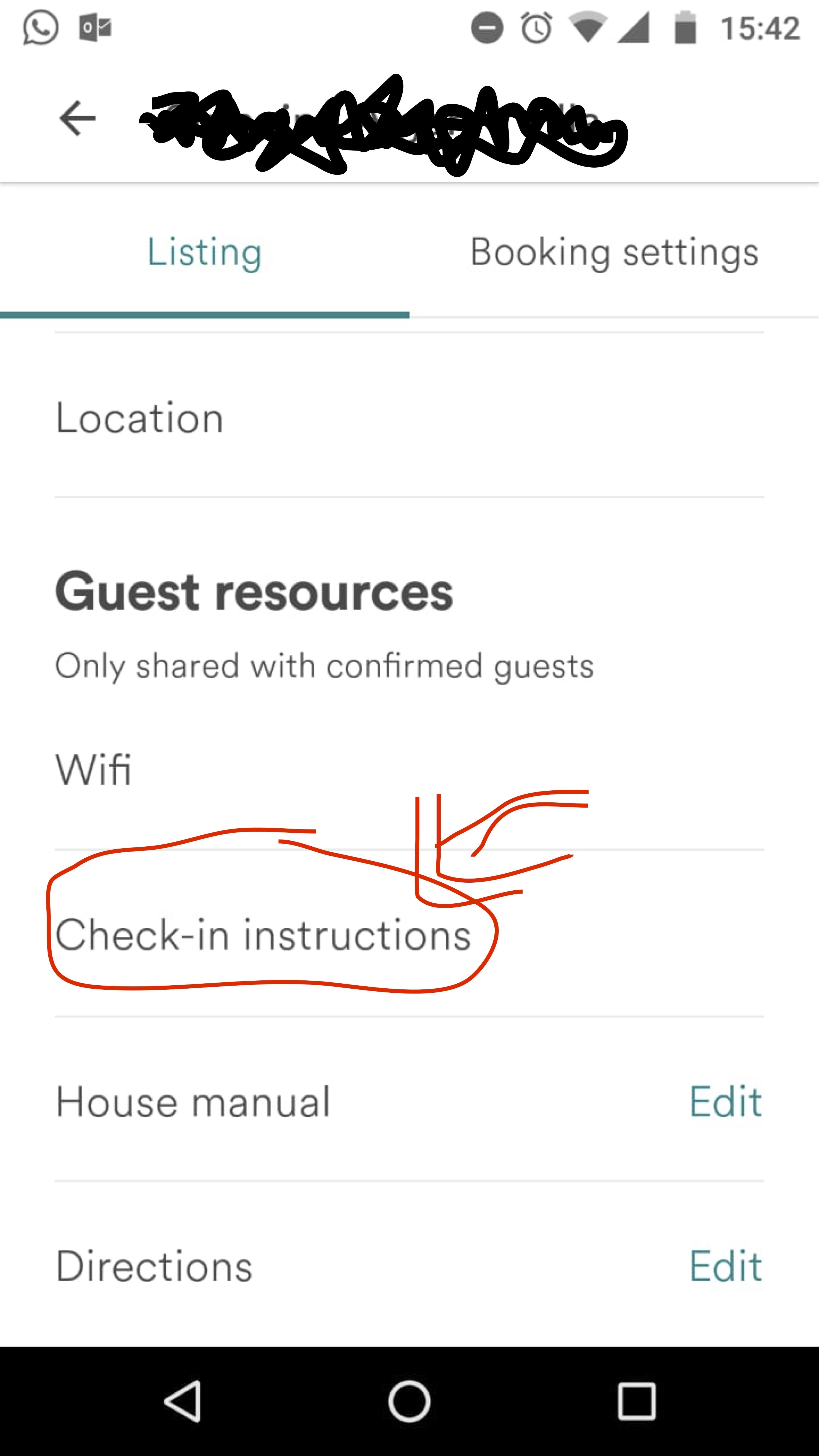 Self check in /lockbox code - Airbnb Community