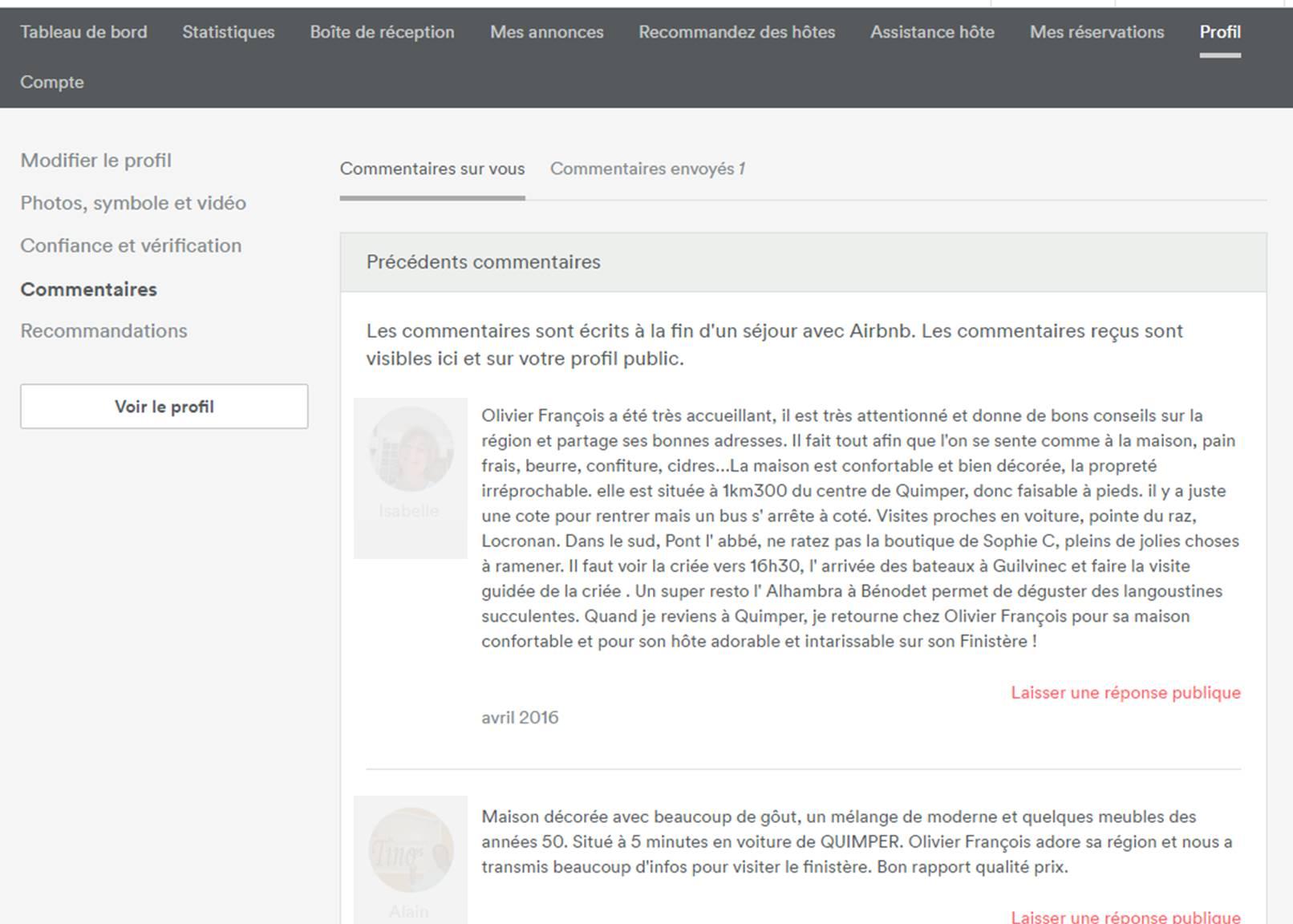 2829ecdf08523a En cliquant sur  commentaires envoyés (1) vous allez accéder à la page à  partir de laquelle vous allez pouvoir écrire votre commentaire, ...