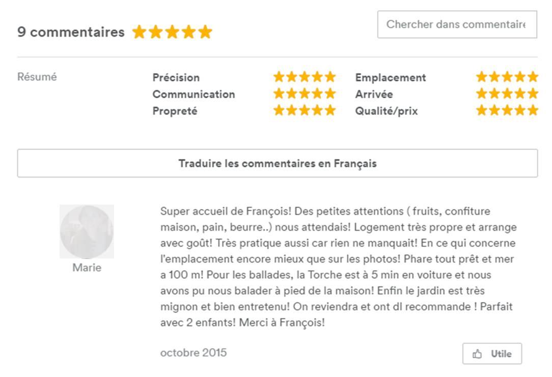 Guide Tout Savoir Sur Les Commentaires Hotes Airbnb