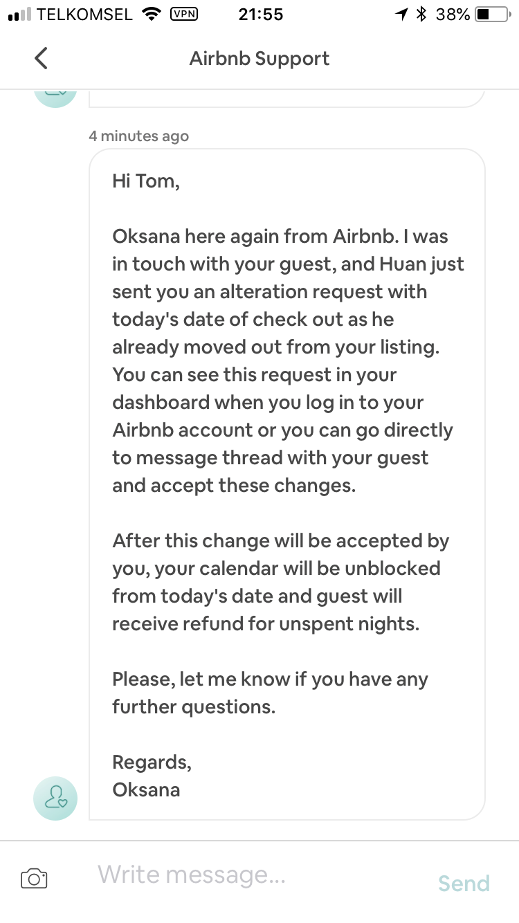 Help: Guest Complaint - Electrical Issue - Airbnb Community