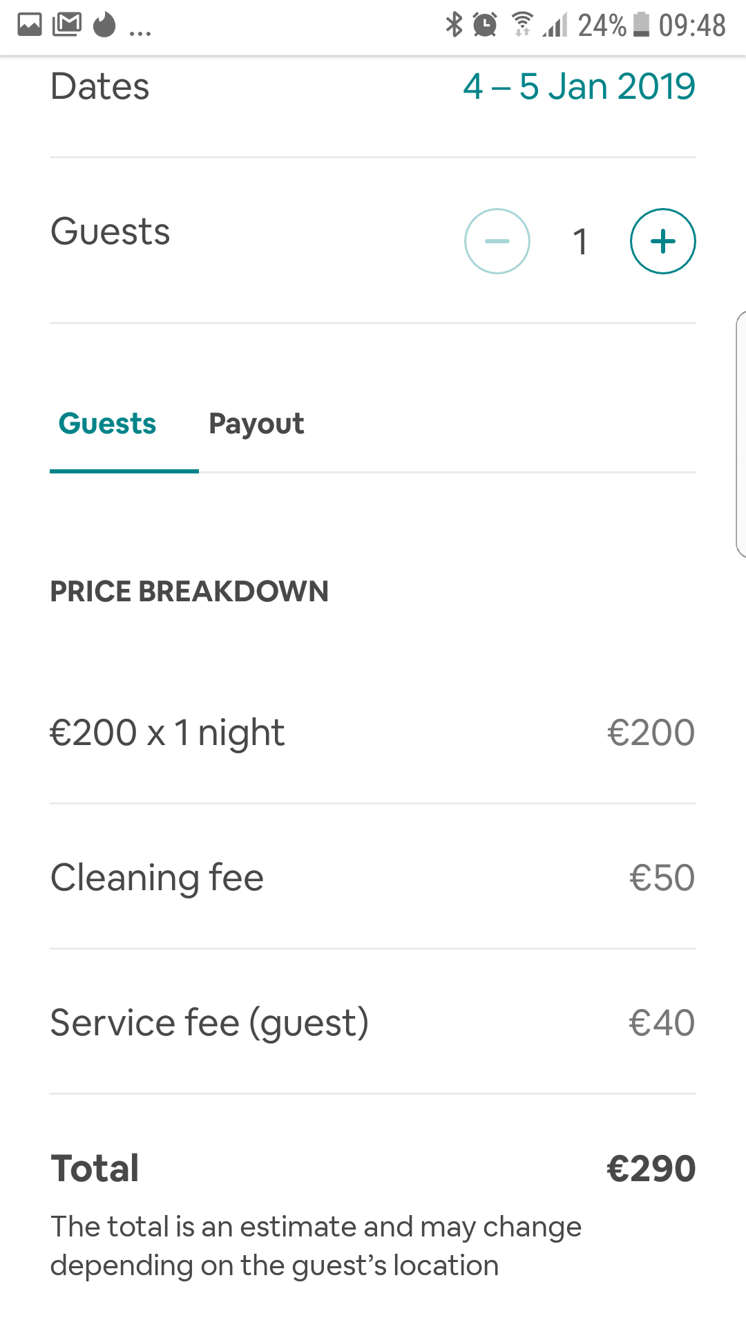 Service fee too high - Airbnb Community