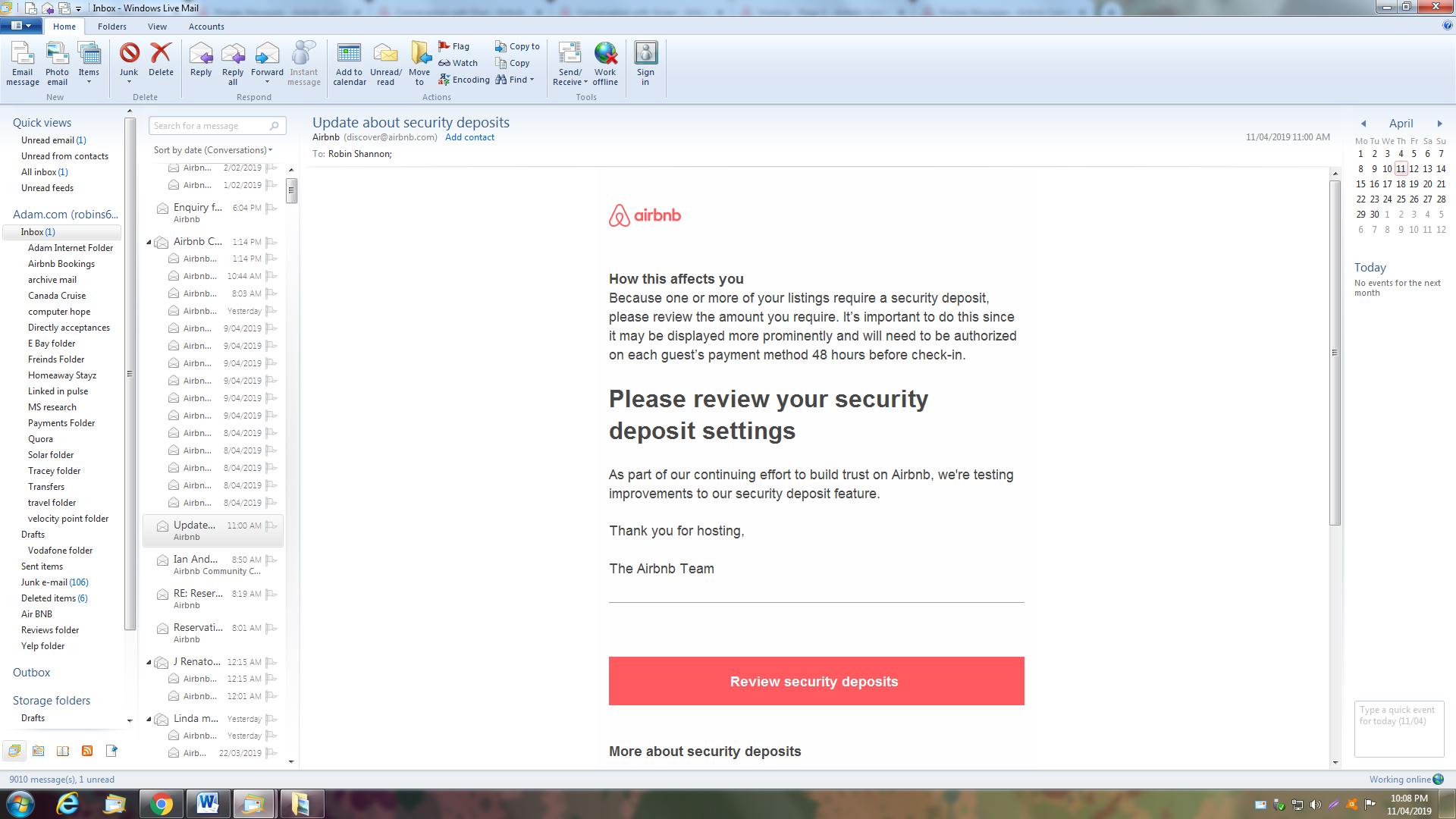 Security deposit - Airbnb Community