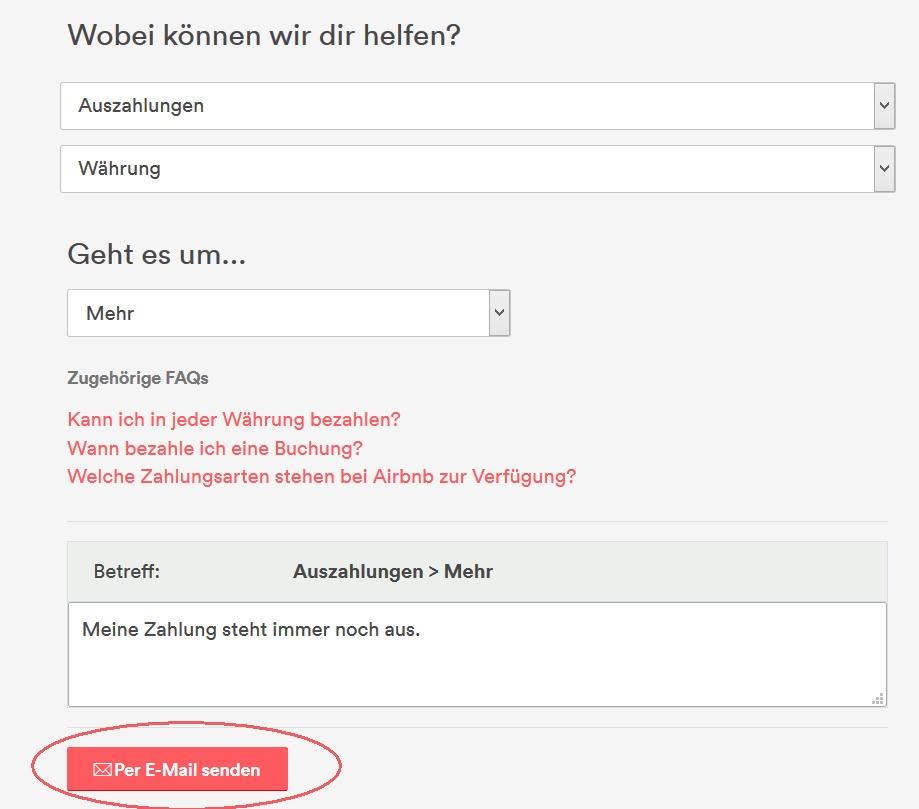 Gelöst Faq Häufig Gestellte Fragen Airbnb Community