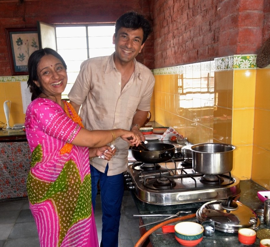 Vikas Khanna and Dr.Smita.JPG
