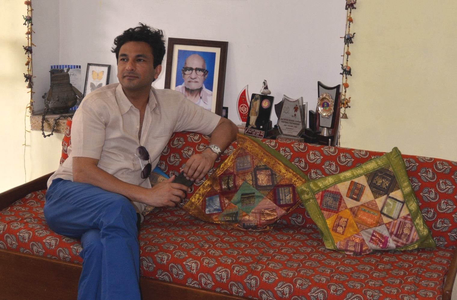 Vikas Khanna at Sneh Deep home stay.jpg