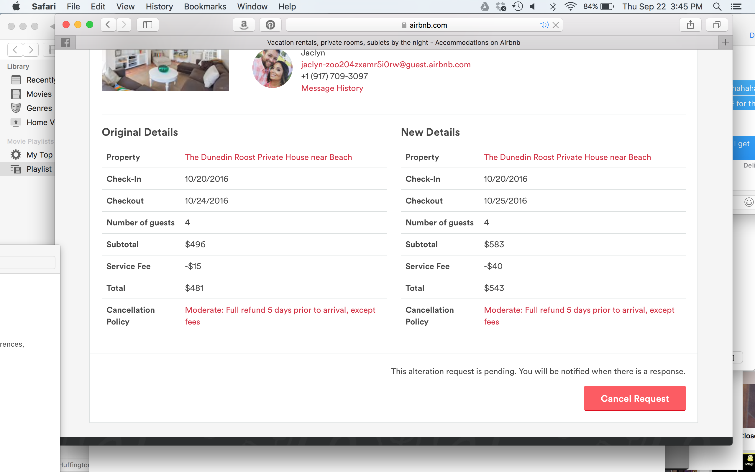 Change/Alter reservation option is so complicated - Airbnb ...