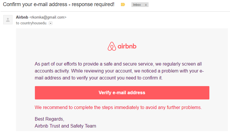 Verify id on airbnb safe
