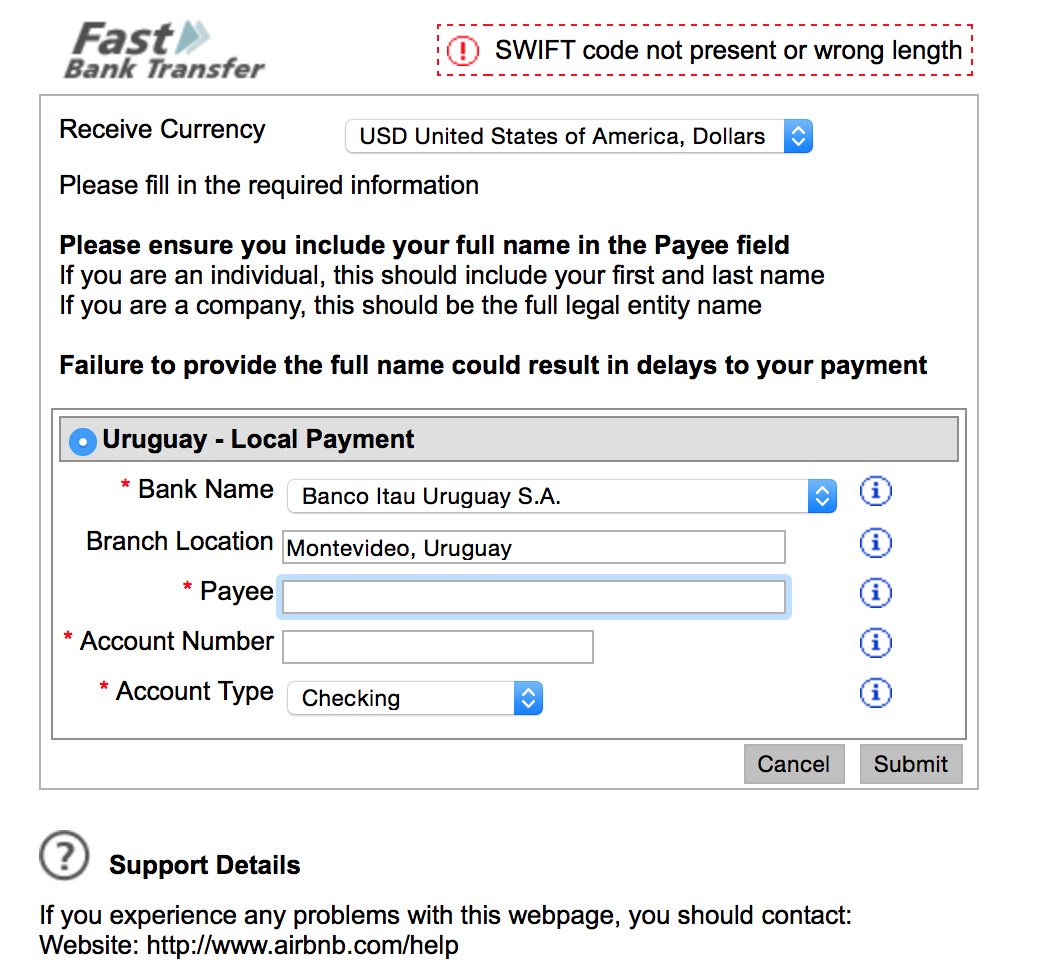 anz bank swift code and address
